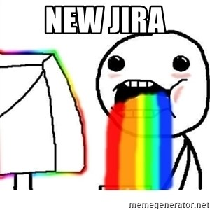 Puking Rainbows - new jira