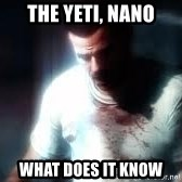 Mason the numbers???? - THE YETI, NANO WHAT DOES IT know
