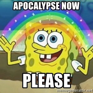 Bob esponja imaginacion - APOCALYPSE NOW PLEASE