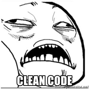 Sweet Jesus Face -  Clean Code