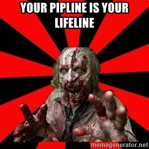 Zombie - your pipline is your lifeline
