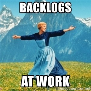 Sound Of Music Lady - BACKLOGS AT WORK