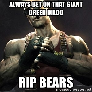 Duke Nukem Forever - always bet on that giant green dildo RIP bears