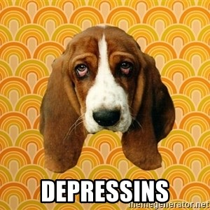 SAD DOG -  depressins