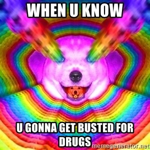 Final Advice Dog - when u know u gonna get busted for drugs