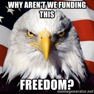 Freedom Eagle  - Why aren't we funding this  FREEDOM?