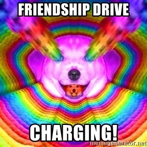 Final Advice Dog - Friendship Drive Charging!