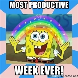Spongebob Imagination - Most productive  week ever!