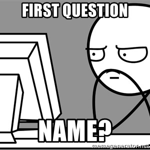 Homework - Mount Everest - first question name?