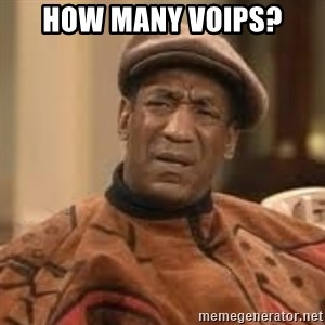 Confused Bill Cosby  - HOW MANY VOIPS?