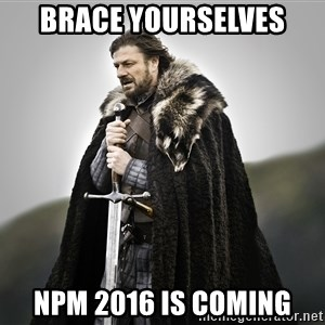 ned stark as the doctor - Brace Yourselves NPM 2016 Is Coming