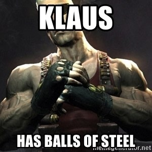 Duke Nukem Forever - KlAUs has balls of steel