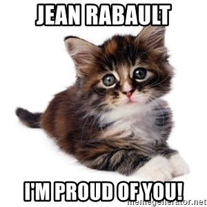 fyeahpussycats - jean rabault i'm proud of you!