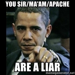 obama pointing - you sir/ma'am/apache are a liar