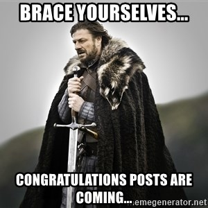 ned stark as the doctor - Brace yourselves... Congratulations posts are coming...