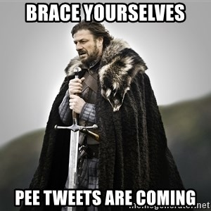 ned stark as the doctor - Brace yourselves Pee tweets are coming