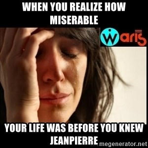 Mehbooba - When you realize how miserable your life was before you knew JeanPierre