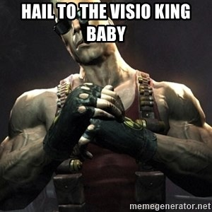 Duke Nukem Forever - Hail to the visio king baby