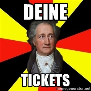 Germany pls - Deine Tickets