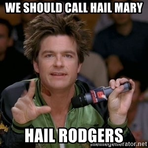 Bold Strategy Cotton - We should call Hail Mary Hail rodgers