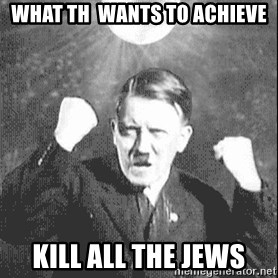 Disco Hitler - what th  wants to achieve kill all the jews