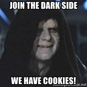 Sith Lord - Join the dark side We have cookies!
