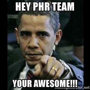 obama pointing - Hey PHR TEAM Your Awesome!!!