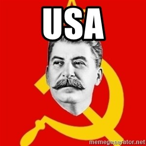 Stalin Says - USA