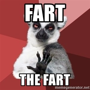 Chill Out Lemur - fart the fart