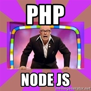 Harry Hill Fight - PHP NODE JS