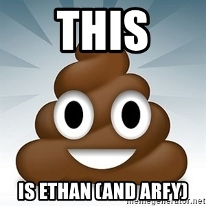 Facebook :poop: emoticon - this is ethan (and arfy)