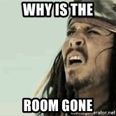 Jack Sparrow Reaction - Why is the Room gone