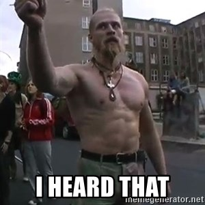 Techno Viking -  I heard that