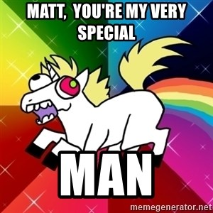 Lovely Derpy RP Unicorn - Matt,  you're my very special  Man