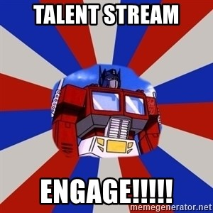 Optimus Prime - Talent STream Engage!!!!!