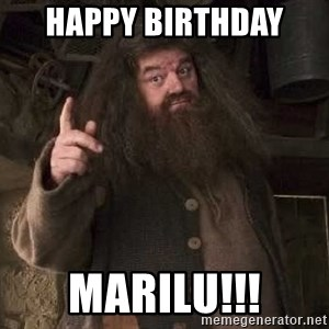 Hagrid - Happy Birthday  Marilu!!!