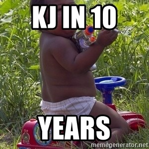 Swagger Baby - KJ IN 10  YEARS