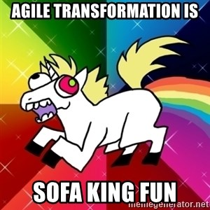 Lovely Derpy RP Unicorn - agile transformation is sofa king fun