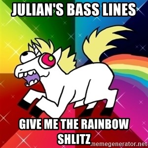Lovely Derpy RP Unicorn - Julian's bass lines  give me the rainbow shlitz