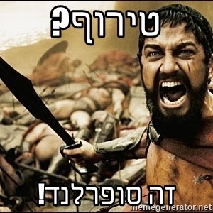 This Is Sparta Meme - טירוף? זה סופרלנד!