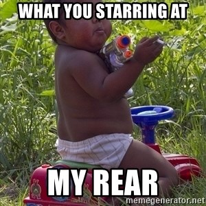 Swagger Baby - What you starring at my rear