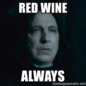 Always Snape - Red wine Always