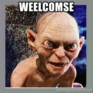Smeagol - weelcomse