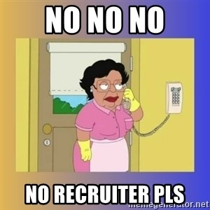 No No Consuela  - No No No No Recruiter Pls