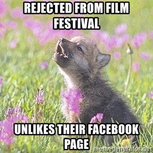 Baby Insanity Wolf - Rejected From Film Festival  UNLIKES Their Facebook Page