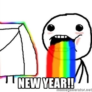 Puking Rainbows -  new year!!