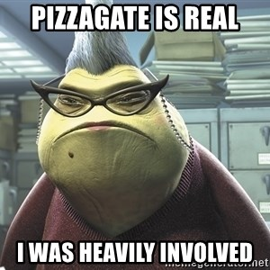 Roz from Monsters Inc - pizzagate is real i was heavily involved