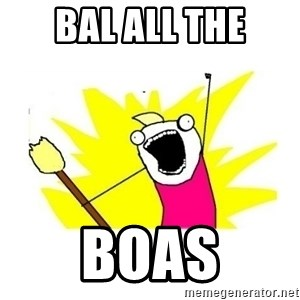 clean all the things blank template - Bal All the Boas