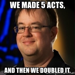 Jay Wilson Diablo 3 - we made 5 acts, and then we doubled it.