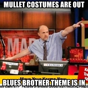 Karma Cramer - Mullet Costumes are out Blues bRother theme is in